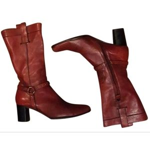 Costume National - Burgundy Red Boots
